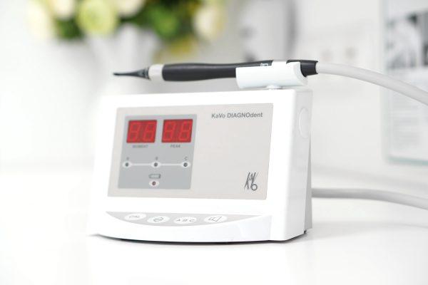 DIAGNOdent - urządzenie do laserowego wykrywania ognisk próchnicy - Laserdent - gabinet stomatologiczny - dentysta, stomatolog Opole