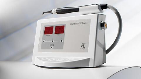 urządzenie diagnostyczne do wykrywania ognisk próchnicy